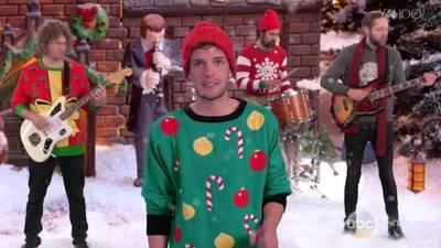 News video: The Killers Debut Killer New Christmas Song on 'Kimmel'